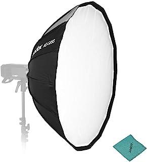 Godox AD-S85S 85cm / 33.5in Soft Parabólica Profundo Paraguas Softbox Mount Godox Mount Reflector de instalación rápida pa...