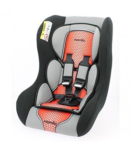 seggiolino 7 kg seggiolino auto da 0 a 25 kg - Gruppo 0/1/2 - Produzione 100% Francese - Riduttore neonato - 3 stelle Test TCS - poggiatesta e fourreaux per un miglior comfort - cinture di sicurezza a 5 punti