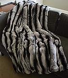 Yissma Manta de Piel sintética Suave, cálida y esponjosa, Manta de Tiro, Manta de Sherpa acogedora, Manta para Cama, sofá, sofá