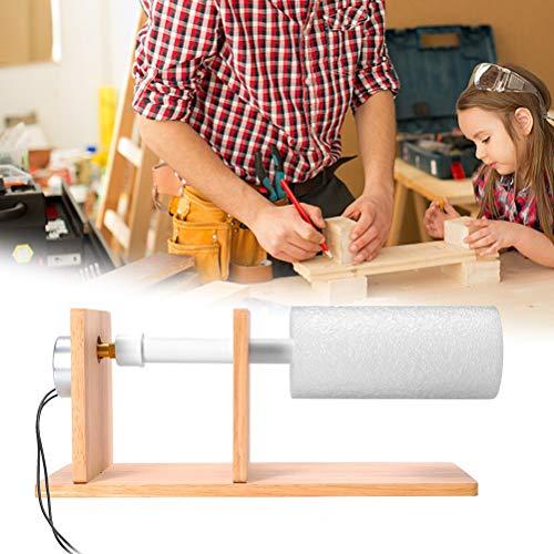 Pandao Becherdreher, DIY Cup Rotator Holzbecher-Drehmaschine Tumbler Cup Turning Kit für die Herstellung von Tassen, einfach zu bedienen