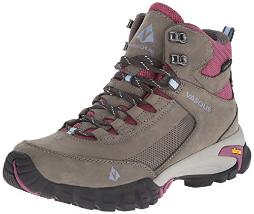 Vasque Women's Talus Trek UltraDry Hiking Boot, Gargoyle/Damson, 8.5 M US