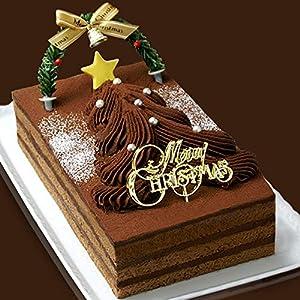 クリスマスケーキ 2020 生チョコレートツリーケーキ(チョコレートケーキ)