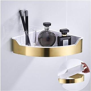 Étagère d'angle Douche Coin douche Caddy murale étagère de douche avec forage, SUS304 en acier inoxydable salle de bains é...
