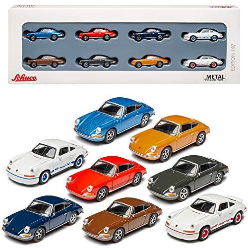 Porsche 911 8er Set S und Carrera 2.7 RS Urmodell Coupe 1963-1973 H0 1/87 Schuco Modell Auto