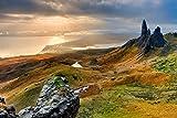 Zopix Wandposter Landschaft Schottland Berge Insel