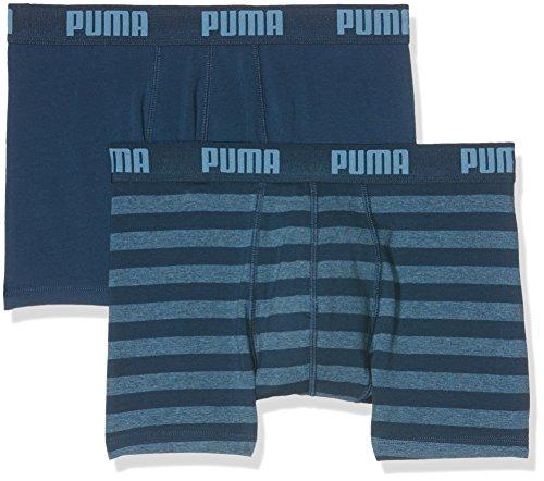Puma Striped Boxer voor heren, 2 stuks