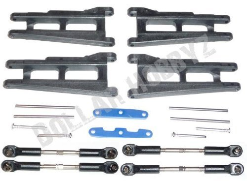 Traxxas 1/10 Slash 4x4 Ultimate * SUSPENSION A-ARMS ALUMINUM TIE BARS TURNBUCKEL
