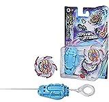 Beyblade Burst Surge Speedstorm - Kit Inicial - KolossalHelios H6 - Top de Batalla Tipo Equilibrio con Lanzador - Juguete para niños