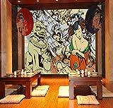 FHOMEY Wallpaper Mural 3d Large Mural Tv Backdrop Bedroom Sofa Restaurant Living Room Personality...