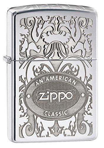 Zippo American Classic Crown Stamp High Poli