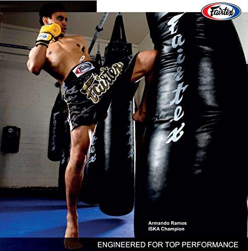 Fairtex HB77ft Stocktasche Muay Thai Gear ungefüllt, schwarz