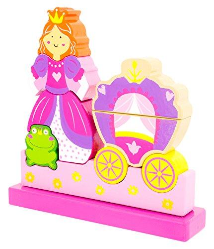 Ulysse Couleurs D'enfance - 50074 - Puzzle Aimant - Princesse - 10 Pièces
