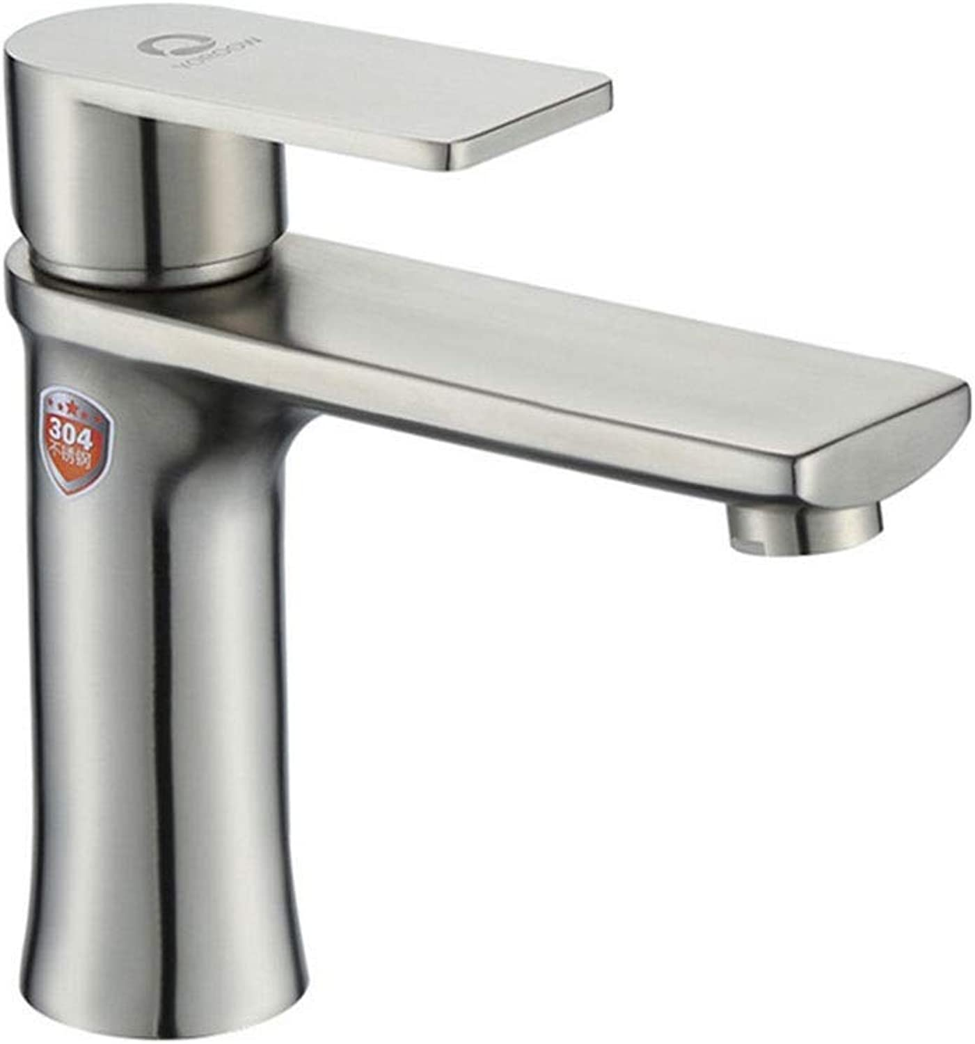 Towero Stainless steel hot and cold basin faucet Bathroom wash basin faucet
