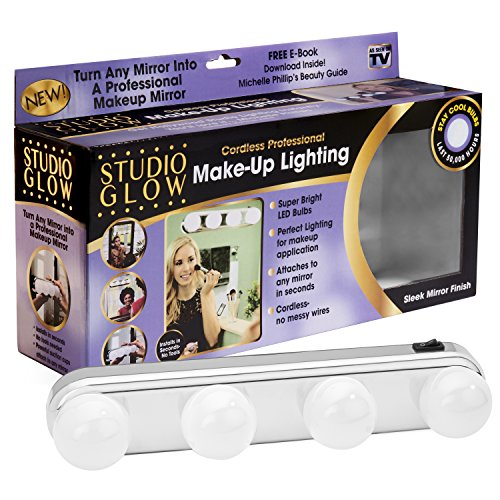 Studio Glow Vanity Make Up Light - As Seen on TV