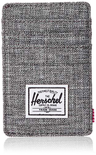 Herschel Unisex Raven Geldbörse RFID Vertikaler Kartenhalter - grau - Einheitsgröße