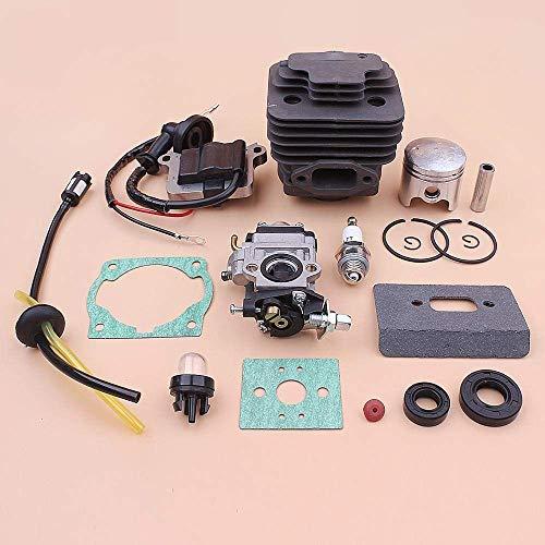 BLTR Cilindro 40mm carburador Bobina de Encendido Kit de pistón for 40-5-5 1E40F Sello de Aceite Junta CG430 línea de Combustible Bombeador Trimmer De Confianza
