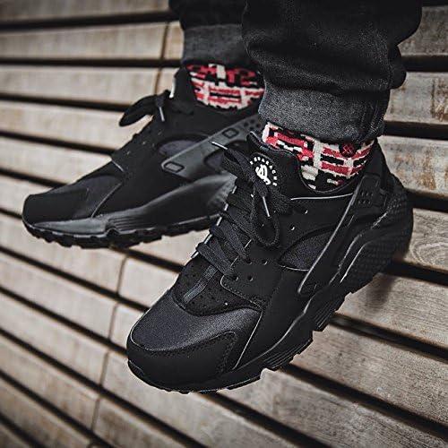 Nike Mens Air Huarache Triple Black