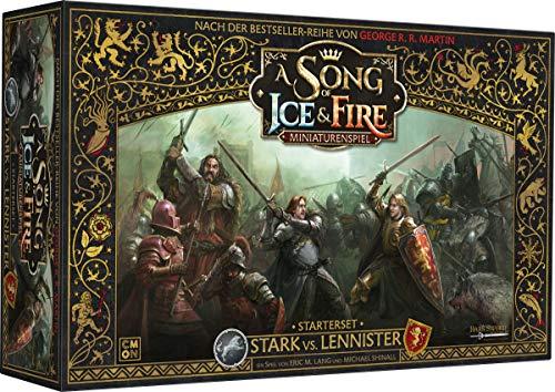 Asmodee CMN0055 A Song of Ice & Fire-Miniaturenspiel Stark vs Lannister Starter-Set, Spiel