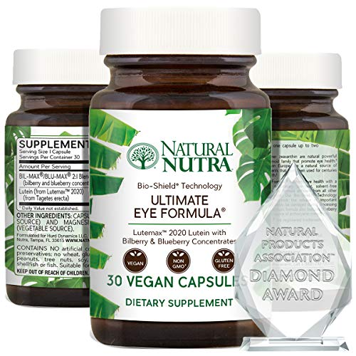 Natural Nutra Ultimate Eye Health Vitamins with Lutemax™ 2020, Lens and...