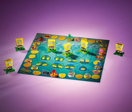 Mattel - SpongeBob G2640-0 Total Verrckter Wrfelspa, Brettspiel