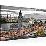 Hamburg Bild Modern Wandbilder - 100% Made In Germany -