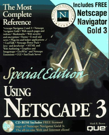 Special Edition Using Netscape 3の詳細を見る