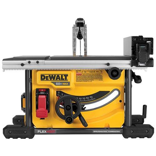 DEWALT FLEXVOLT 60V MAX Table Saw, 8-1/4-Inch (DCS7485T1)