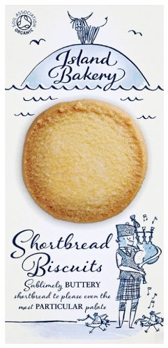 Island Bakery Organic Shortbread Biscuits 150 g (Pack of 6)