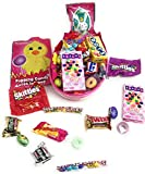 Happy Easter Eggstravaganza ~ Bright Colored Giant Easter Egg With Peek-A-Boo See Through Cover Stuffed With Sweets And Treats (Pink)