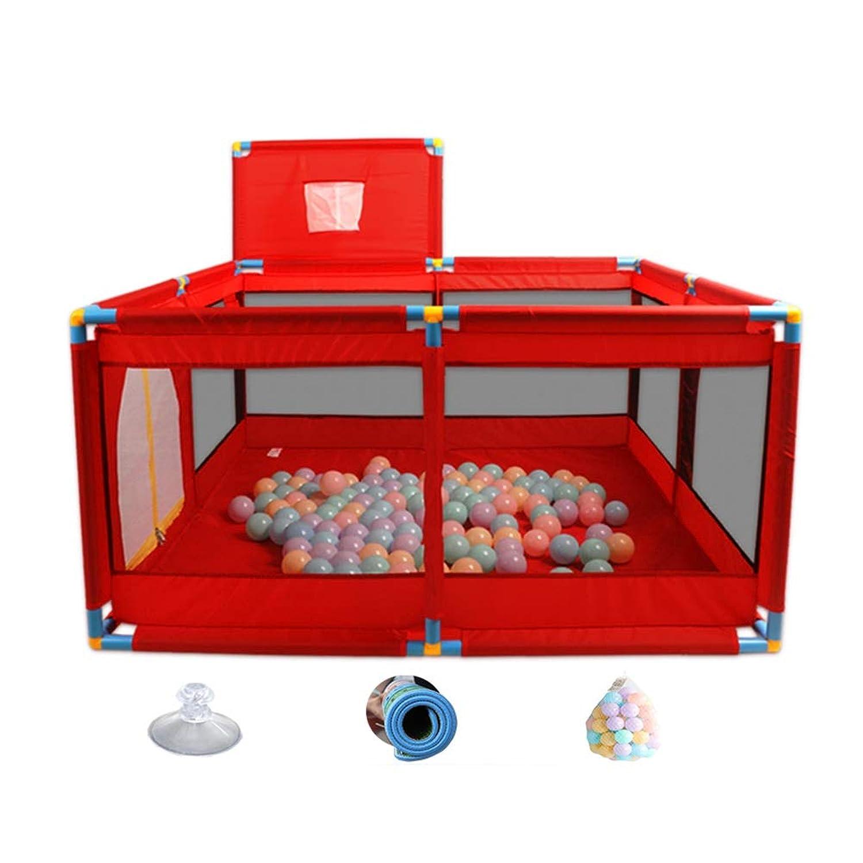子供の遊びペン活動センター、赤ちゃんの遊び場ノンスリップ耐久性のある安全なゲームのフェンス、赤