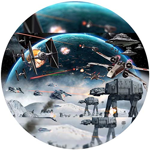 Fondant Tortenaufleger Tortenbild Geburtstag Star Wars T84