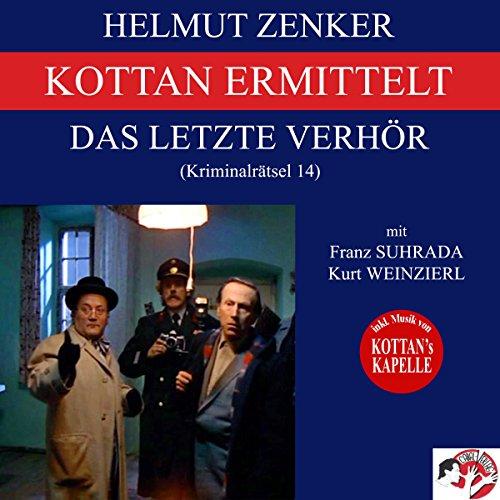 Das letzte Verhör (Kottan ermittelt - Kriminalrätsel 14) Titelbild