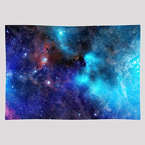 EARVO 10x7ft Starry Galaxy Backdrops for Themed Party YouTube Colorful Universe Photography Background Cotton Backdrop Studio Video Props EAGE123