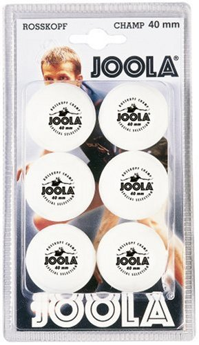 Joola Tt Ball - Pelota de ping pong, color blanco