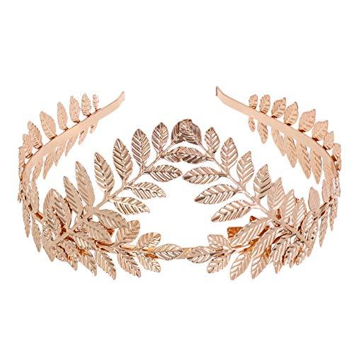 Haarschmuck Brautschmuck Haarnadeln, Vintage Prinzessin Haar Krone Perlenrhinestone Haarclip Hochzeit Brautschmuck Braut Haar Zubehör (Gold)