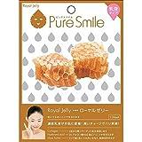 Puresmile, Milky Essence Facial Mask Sheet, Royal Jelly 10pcs