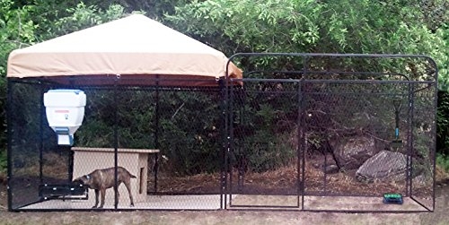 Cove Products K9 Kennel Store 8' X 16' Welded Wire Ultimate Dog Kennel System