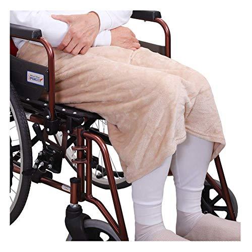 Rollstuhl-Decke, Velvet Warm Rollstuhl Kuschelige Schutzdecke, Universal fit für manuell und elektrisch betriebene Rollstühle, Erwachsen-Größe