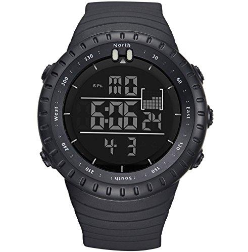 Gimto, orologio da polso digitale impermeabile per sport e uso militare, stile casual, prodotto di lusso