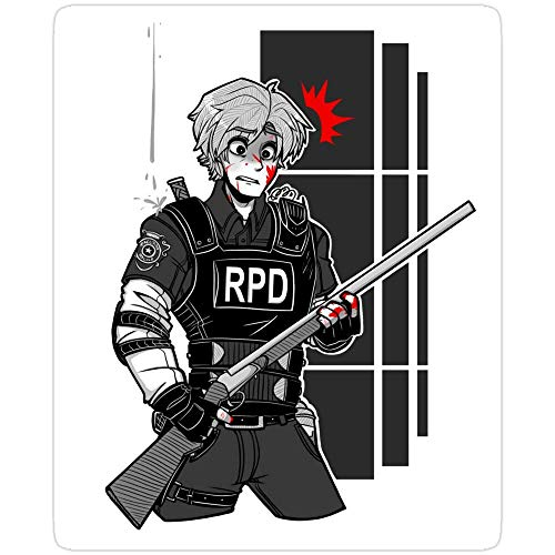 Cool Sticker For Cars, Trucks, Water Bottle, Fridge, Laptops Game Over In 3. 2. 1. Resident Evil 3 Stickers (3 Pcs/Pack) 6531678526161