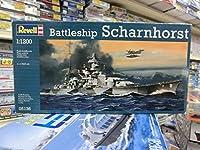 レベル 05136 1/1200 Battleship Scharnhorst バトルシップ