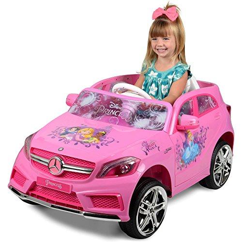 Disney Princess Mercedes 6-Volt Ride-On, Pink
