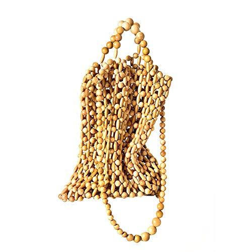 ATpart Frauen Umhängetasche Handgestrickte Handtasche Vintage Strandtasche Reiserucksack Tasche Crossbody Tasche für Frauen Mädchen