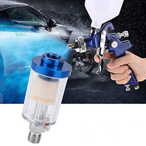 """Mini-Öl-Wasser-Abscheider, 1/4""""Gewinde Öl-Wasser-Abscheider-Filter Pneumatisches Spritzpistolenwerkzeug Zubehör"""