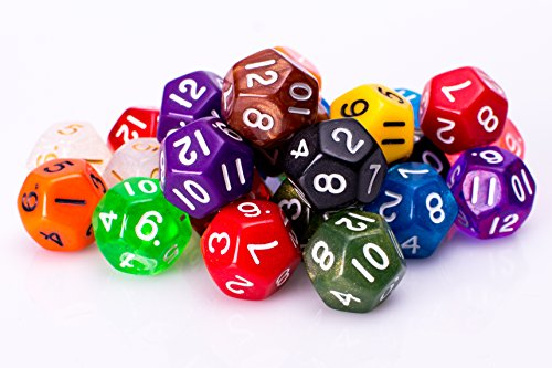 12 sided dice - 3