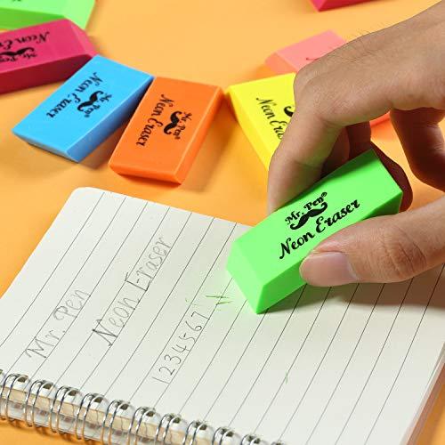 Mr. Pen- Erasers, Pencil Eraser, 12 Pack, Neon Colors, Erasers, Eraser, Erasers for Drawing, Eraser Pencil, Pencil Erasers, Erasers for Kids, Art Erasers for Drawing, Artist Eraser, Colorful Erasers Photo #7