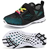 CIOR Boys & Girls Water Shoes Kids Swim Shoes Amphibious Aqua Shoes...
