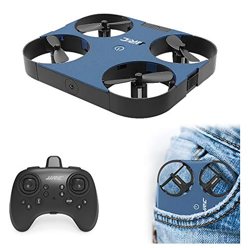 JJRC H70 Mini Drone for Kids RC Small Quadcopter One Key Take Off Nano Drones Toy for Beginners Boys and Girls, Blue