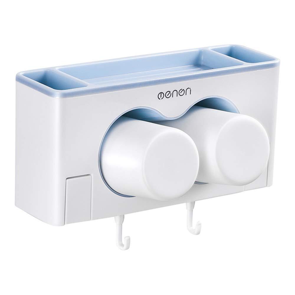 Portacepillos de baño Soporte de Cepillo de Dientes montado en la ...