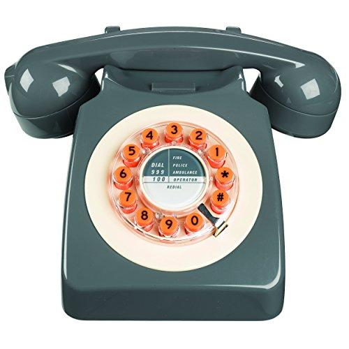 Wild and Wolf Retro 746 Telephone | Concrete Grey